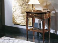 Tavolino di servizio rettangolare in legno massello VIOLINO - Canaletto