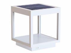 Lampada senza fili in alluminio con pannello solareVISOR SOLAR - BENEITO & FAURE LIGHTING
