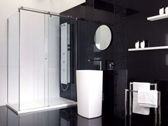 KRION, VITRA 9C Box doccia in vetro