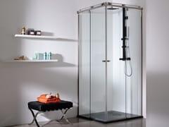 KRION, VITRA 4 Box doccia in vetro
