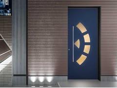COCIF, VITRUM Porta d'ingresso blindata per esterno con pannelli in vetro