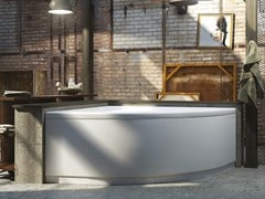 Vasca da bagno angolare idromassaggio in acrilicoVITTORIA - RELAX DESIGN