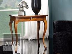 Consolle rettangolare in legno massello con cassettiVIVRE LUX | Consolle - ARVESTYLE