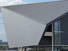 VMZINC, VMZ DOPPIA AGGRAFFATURA Copertura ventilata in zinco titanio