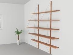Libreria a parete in acciaio Corten™VOILE' | Libreria in acciaio Corten™ - TRACKDESIGN