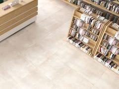 Pavimento/rivestimento in gres porcellanato effetto cementoVOLCANO BEIGE - CERAMICA RONDINE