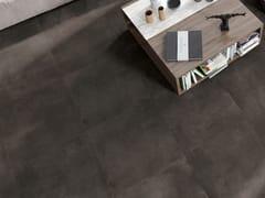 Pavimento/rivestimento in gres porcellanato effetto cementoVOLCANO DARK - CERAMICA RONDINE
