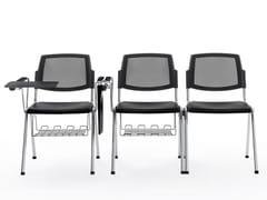 Sedia da conferenza con ribaltinaVOLÉE NET PLASTIC | Sedia da conferenza con ribaltina - DIEMMEBI