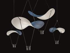 Lampada a sospensione a LED in metallo verniciatoVOLLEE C2+2 - MASIERO