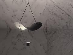 Lampada a sospensione a LED in metallo verniciatoVOLLEE S1G - MASIERO