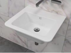 Lavabo singolo in ceramica VOLO 52 - Volo