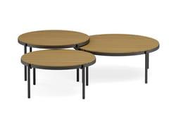 Tavolino basso da caffè in alluminio verniciato a polvereVOLTE | Tavolino basso - JARDINICO