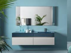 Mobile lavabo componibile con apertura centraleVOLUMI | Mobile lavabo componibile - ARTELINEA