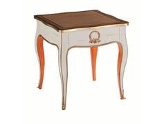 Tavolino alto quadrato in ciliegio con vano contenitoreVOLUTES | Tavolino alto - ROCHE BOBOIS
