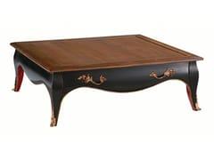 Tavolino basso quadrato in ciliegio con vano contenitoreVOLUTES | Tavolino basso - ROCHE BOBOIS
