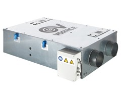 Recuperatore di calore per controsoffittiVORT HRI 350 FLAT - VORTICE ELETTROSOCIALI