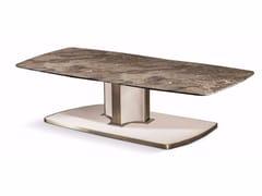 Tavolino rettangolare in marmo VOYAGE | Tavolino rettangolare - Voyage