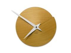Orologio in legno da pareteVULCANELLO YELLOW TAY - LEONARDO TRADE