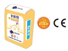 Finitura premiscelata fibrorinforzata base di calce naturaleW 60 FB - MALVIN