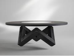 Tavolo rotondo in legnoW | Tavolo in legno - ALBEDO S.R.L. UNIPERSONALE