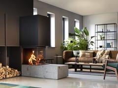 Caminetto a legna a tripla facciataW53/50R - KALFIRE