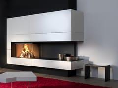 Caminetto a legna angolareW90/47C - KALFIRE