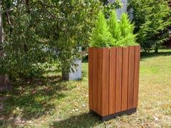 Fioriera per spazi pubblici alta rettangolare in legnoWADE | Fioriera per spazi pubblici rettangolare - FACTOR-ESPAÇO, INVESTIMENTOS IMOBILIÁRIOS