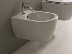 Bidet sospeso in ceramicaMOON | Bidet sospeso - SCARABEO CERAMICHE