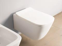 Wc sospeso in ceramicaA16 | Wc sospeso - ARTCERAM
