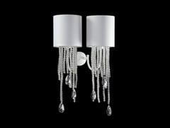 Lampada da parete a luce indiretta con cristalliALICE | Lampada da parete - AIARDINI ILLUMINAZIONE