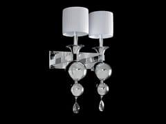 Lampada da parete a luce indiretta con cristalliGINEVRA   Lampada da parete - AIARDINI ILLUMINAZIONE
