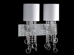 Lampada da parete con cristalliLISA | Lampada da parete - AIARDINI ILLUMINAZIONE
