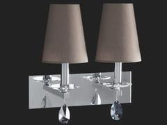 Lampada da parete con cristalliOTTAGONO | Lampada da parete - AIARDINI ILLUMINAZIONE