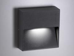 Lampada da parete per esterno a LED in alluminioBOTTOM | Lampada da parete per esterno - AILATI LIGHTS BY ZAFFERANO