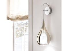 Lampada da parete in vetro borosilicato metallizzatoZOE | Lampada da parete - CANGINI & TUCCI