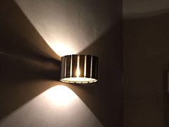 Lampada da parete in legnoLUZ OCULTA WOOD | Lampada da parete - FAMBUENA LUMINOTECNIA
