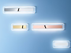 Lampada da parete a LED in acciaio e vetroANTILLE_S - LINEA LIGHT GROUP
