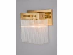 Lampada da parete a luce diretta fatta a mano in ottone HOFFMANN | Lampada da parete - Hoffmann