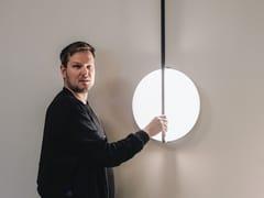 Lampada da parete a LED in vetroKONTUR | Lampada da parete - VIBIA