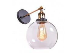 Applique a luce diretta in vetroNAVARRO | Applique - ARREDIORG