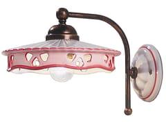 Applique in ceramica con braccio fissoALESSANDRIA | Applique - FERROLUCE