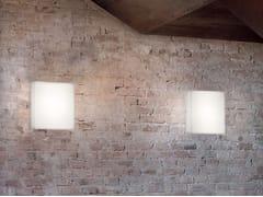 Applique a LED in vetroGLUÈD_W - LINEA LIGHT GROUP