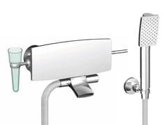 Miscelatore per vasca a muro in ottone cromato con doccettaDE SOTO F3654 | Miscelatore per vasca - FIMA CARLO FRATTINI