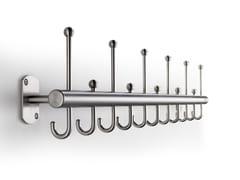 Appendiabiti da parete in acciaio FINO | Appendiabiti da parete - Fino