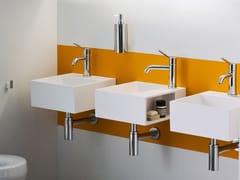 Lavamani quadrato sospeso in Cristalplant®HANDWASH | Lavamani sospeso - AGAPE