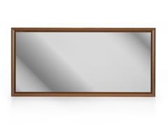 Specchio rettangolare con cornice da parete MOMENT | Specchio da parete - Moment