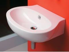 Lavabo sospeso in ceramica VERA | Lavabo sospeso - Vera