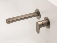 Miscelatore per lavabo a muro monocomando senza scarico LINFA II | Miscelatore per lavabo a muro - LINFA II