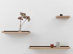 Mensola in acciaio e legnoNOTES | Mensola - CRUSO