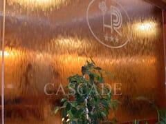 Cascata d'acquaCascate su vetro o parete - CASCADE